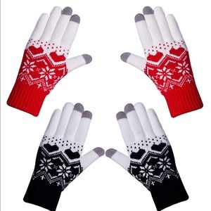 Texting Winter Gloved 2 Pair